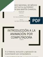 Introducción a la animación por computadora