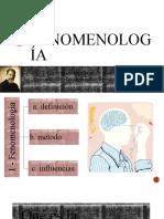 6-1 - La fenomenología [Autoguardado]