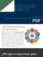 PLE EN LA EDUCACION 2.0.pptx