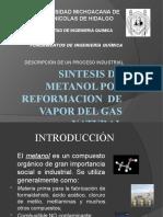 Sintesis de Metanol f