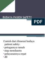 BUDAYA PASIEN SAFETY