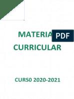 Material Curricular 20-21