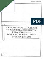 Proposition de Loi Revision Constitution 1