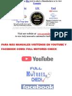 SEÑALES CKP-CMP