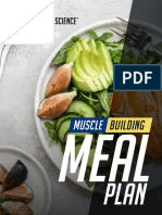 Muscle Building Meal Plan