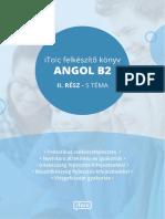 iTOLC Felkészítő Könyv – Angol B2 II. rész (Letölthető Könyv)