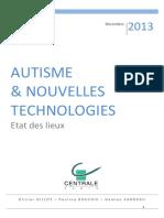 TIC_Autisme_Etat des lieux_20131216