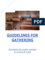 Guidelines for Gathering - St. Aidan's Church