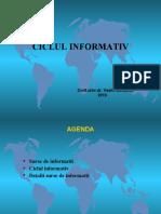 5. Ciclul informativ