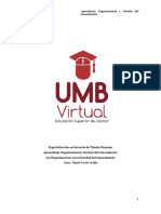 Autoría M. 1 - Aprendizaje Organizacional