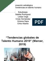 TENDENCIAS TALENTO HUMANO