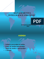 6. Managementul Intel strategic