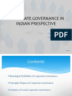 Corporate Governance_Indian Perspective