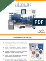 Presentación Altronic - Paneles