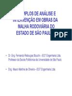 EXEMPLOS DE ANÁLISE E INTERVENÇÃO EM OBRAS R3