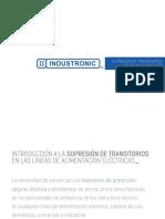 Supresor de Picos TVSS Industronic