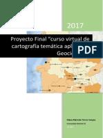 PROYECTO FINAL cartografia temática