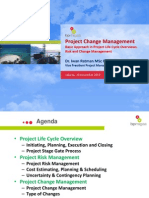 Project Change Management - Project Life Cycle