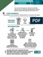 Cartaz Informações gerais (colorido)