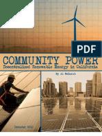 Community Power by Al Weinrub