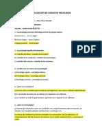 EXAMEN DE PSICOLOGÍA