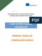 METHODOLOGIE DE COACHING POUR LES CONSEILLERS D'ORIENTATION