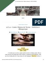 11 E 20 -Conto Clássico de Terror - Medeiros e Albuquerque _ CONTOS DE TERROR