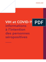 HIV COVID-19 Brochure Fr