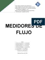 MEDICION DE FLUJO