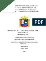 mayumi  monografia CONTAMINACIÓN