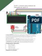Sensor UV Arduino
