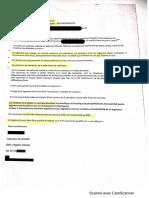 Courrier de l'écologie urbaine de Lyon au service habitat indigne de la DDT69