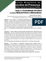FRIQUES, M S Ilusão e teatralidade. Krauss e Fried vs Minimalismo.pdf