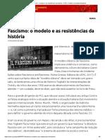 Fascismo_ o modelo e as resistências da história – PCB – Partido Comunista Brasileiro