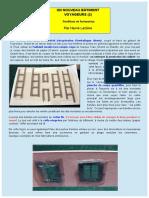 Modélisme ferroviaire H0. Un Nouveau Bâtiment Voyageur (Part. 2 ) Fenêtres et huisseries © Par Hervé Leclère