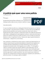 A polícia que quer uma nova polícia – PCB – Partido Comunista Brasileiro