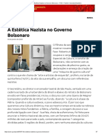 A Estética Nazista no Governo Bolsonaro – PCB – Partido Comunista Brasileiro
