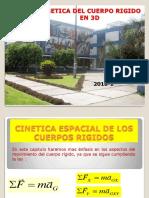 2018-2 CINETICA DE CUERPO RIGIDO EN EL ESPACIOU