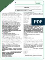 CREMILDA - ATIVIDADE REMOTA - PORTUGUÊS - BLOCO III - 9º ANO-convertido