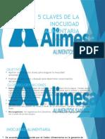 5 CLAVES DE LA INOCUIDAD ALIMENTARIA.pptx
