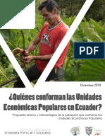 Quienes conforman las UEPS en Ecuador