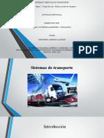 Modos y medios de transporte