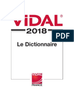 Vidal 2018 DICTIONNAIRE MEDICAL.pdf