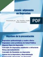 Aripiprazole adyuvante en depresion