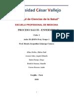 Informe 5. Proceso Salud y Enfermedad