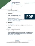 DoP UNILIN - UTHERM ROOF PIR L FRA - UniDoP 2014004-V3 (29.10.15)