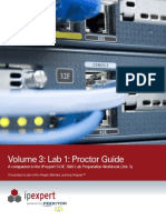IPexpert CCUE Routing & Switching Volume 3 Lab 1 Proctor Guide