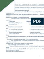 FINALIZAREA ACTIUNILOR DE CONTROL-RASPUNDEREA PENALA