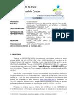 DECISÃO TCE-PI DENÚNCIA MEGA ON