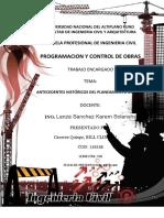 ANTECEDENTES HISTORICOS DE PLANEAMIENTO DE OBRAS.docx